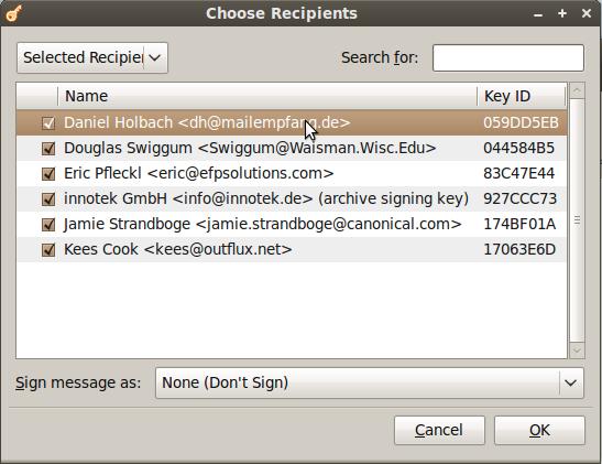 encrypt to dialogue seahorse